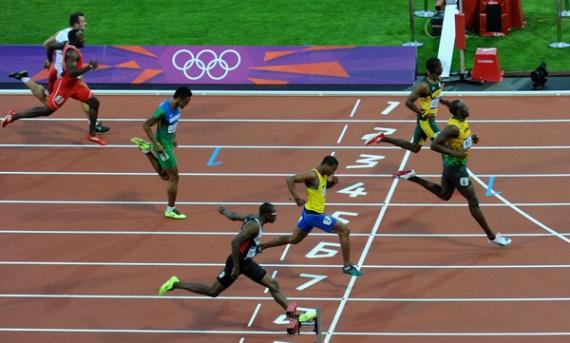 Semifinal 200 metros