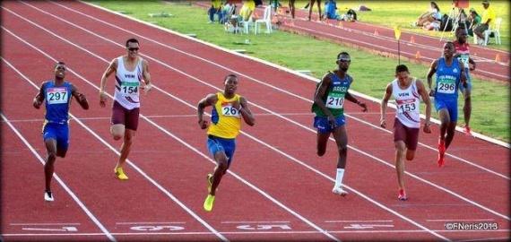 Alex Quiñonez Sudamericano de Atletismo 2013 200 metros