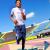 Miguel Angel Almachi // Deporte: Atletismo Maratón// Competirá el 12 de agosto, desde las 05:00. Foto: Andes Agencia Pública de Noticias